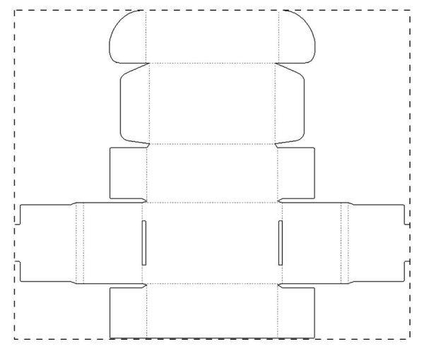 Papírová krabička CreaBox Toy A