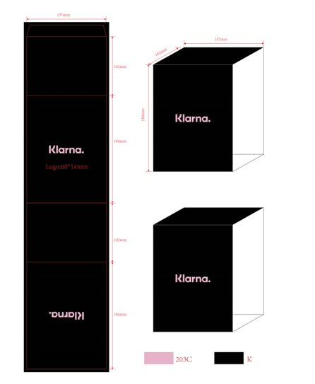 Černý reklamní box pro stabilizovanou růži