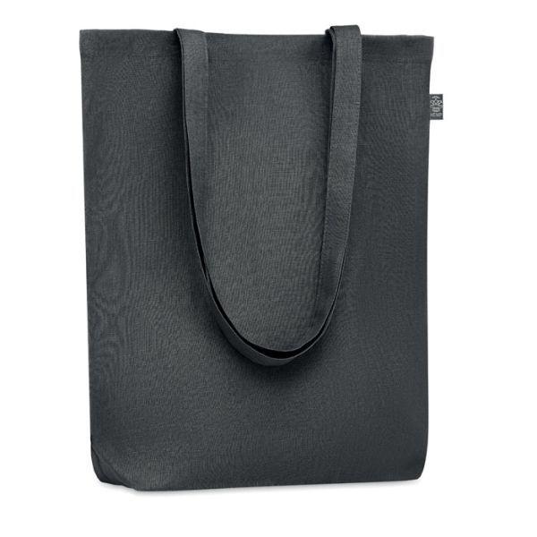 Eco taška nákupní, z konopí, s vlastním potiskem, černá