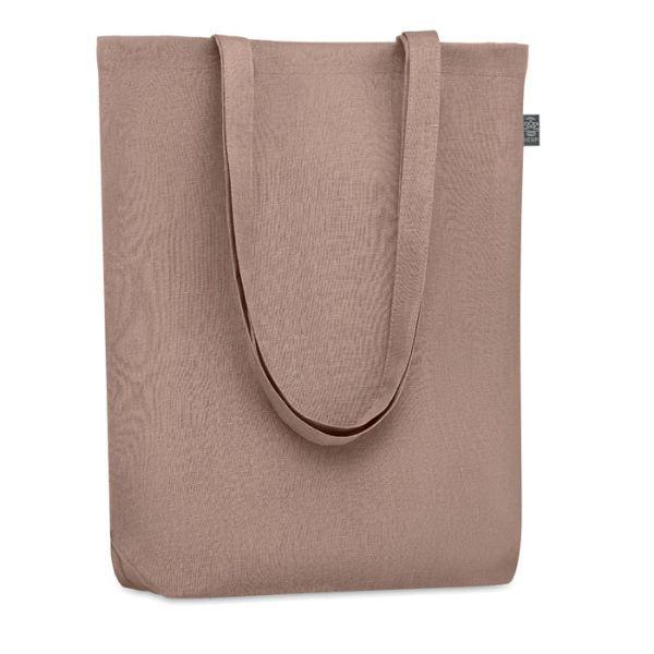 Eco taška nákupní, z konopí, s vlastním potiskem, hnědá