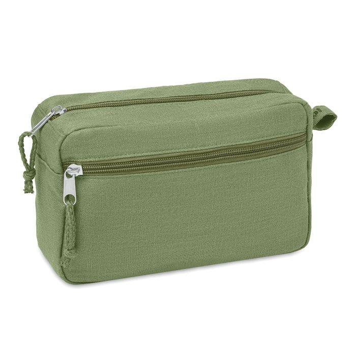 NAIMA COSMETIC eko kosmetická toaletní taška zelená