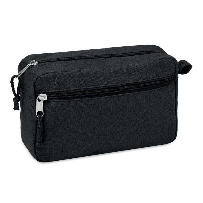 NAIMA COSMETIC eko kosmetická toaletní taška černá