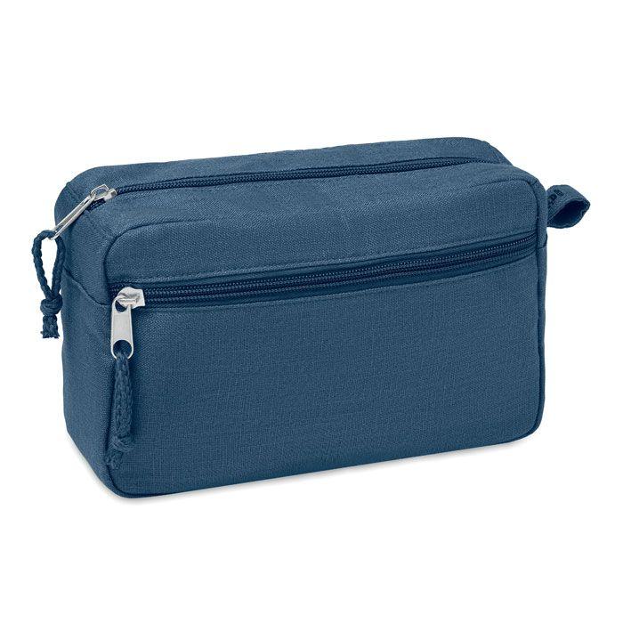 NAIMA COSMETIC eko kosmetická toaletní taška modrá