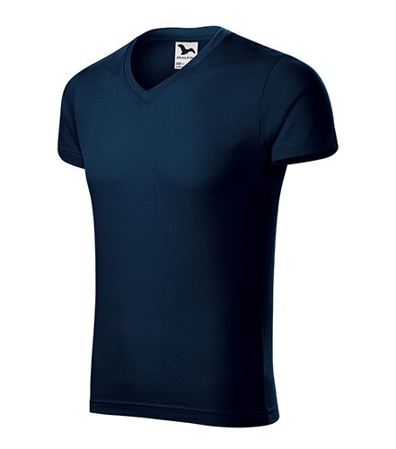 Pánské triko Slim Fit V-neck 50 ks