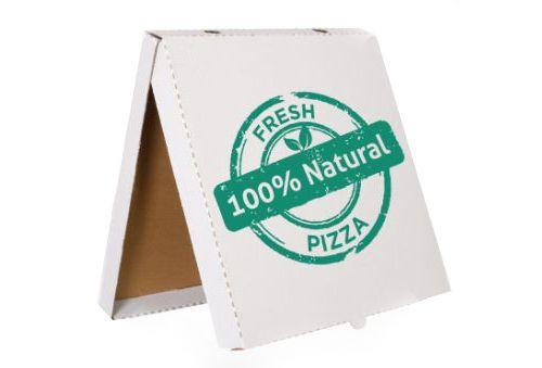 Papírová krabice na pizzu 320x320x30mm s vlastním potiskem