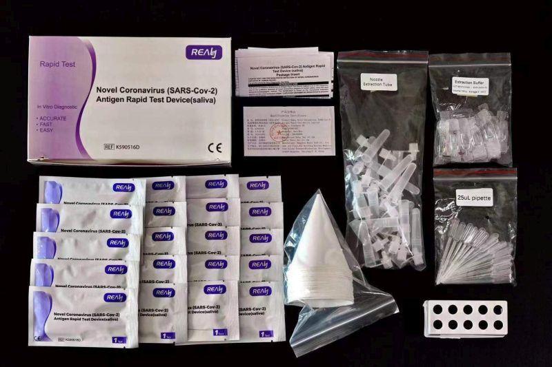 Antigenní testy ze slin