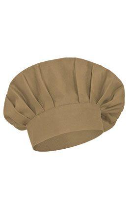 Coulant kuchařská čepice hnědá, vhodná pro potisk