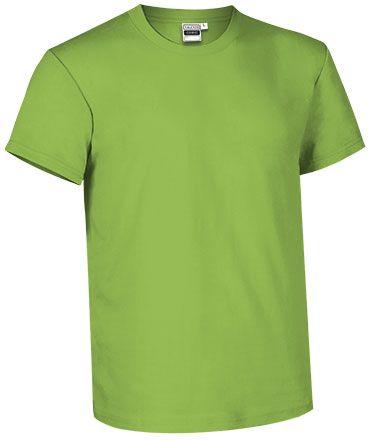 Barevné bavlněné tričko Comic Fit pro potisk, zelené