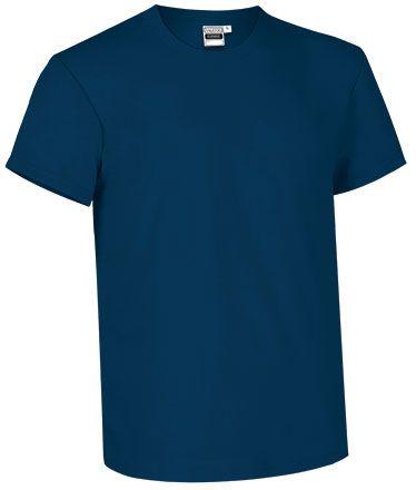 Modré bavlněné tričko pro potisk Comic Fit
