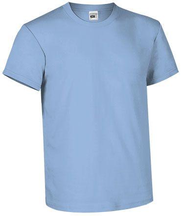 Levné bavlněné tričko pro potisk, modré