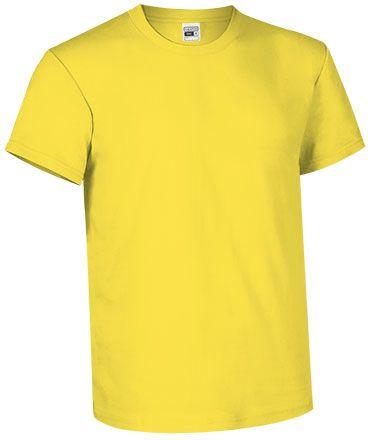 Levné bavlněné tričko pro potisk, žluté