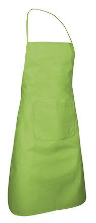 Pepper víceúčelová pracovní zástěra s kapsou, zelená