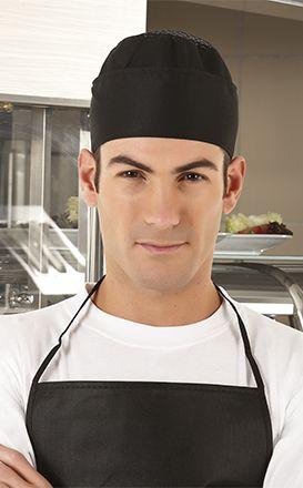 BOWER kuchařská čepice černá