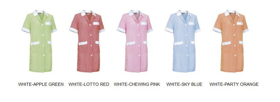 ALANIS pracovní dámské šatové zástěry více barev