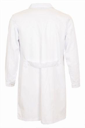 SMART pracovní plášť bílý XS-XXL, zadní bederní pásek
