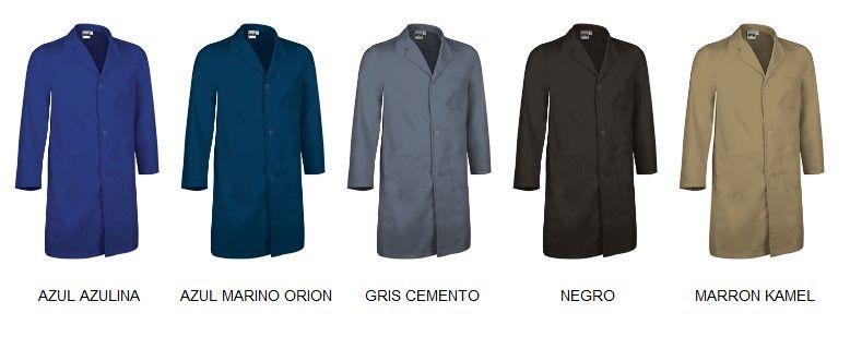 LOAD klasické pracovní pláště modré, šedý, černý, hnědý