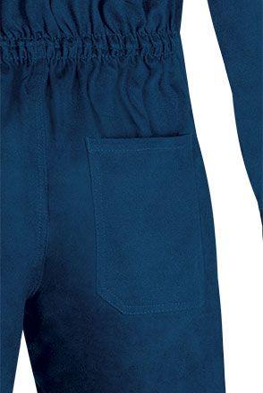 ROPPER montérková kombinéza modrá, detail zadní kapsy