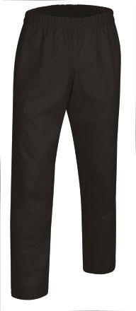 Značkové zdravotnické kalhoty na gumu Clarim, černé