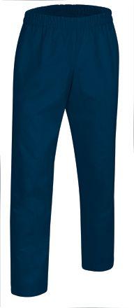 Značkové zdravotnické kalhoty na gumu Clarim, modré