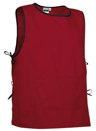 Krátký pracovní kabát, zástěra, tabard Lince, červená