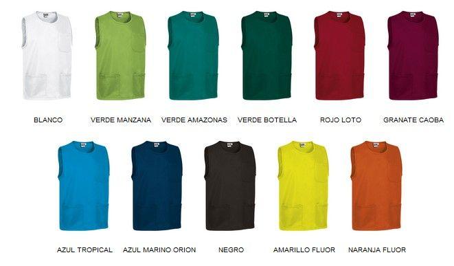 Krátké úklidové kabáty, tabardy, pracovní zástěry Costa, více barev