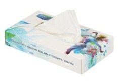 Papírové kapesníky v boxu s reklamním potiskem