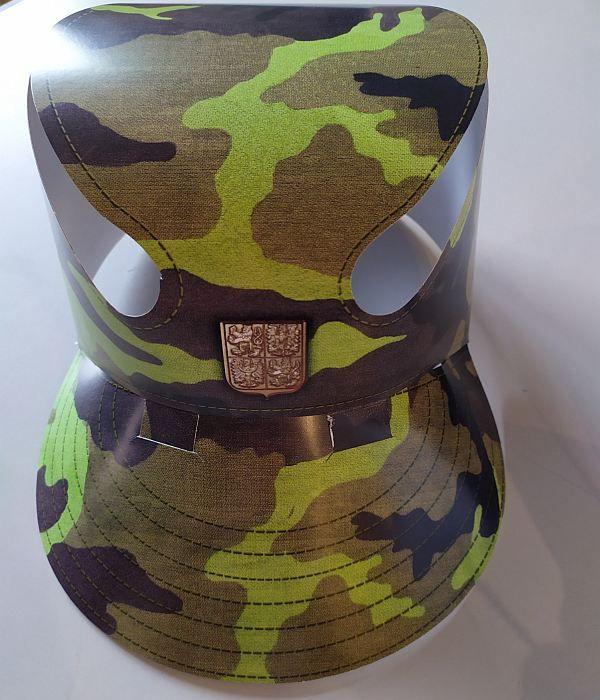 Papírová čepice kšiltovka 2000 ks