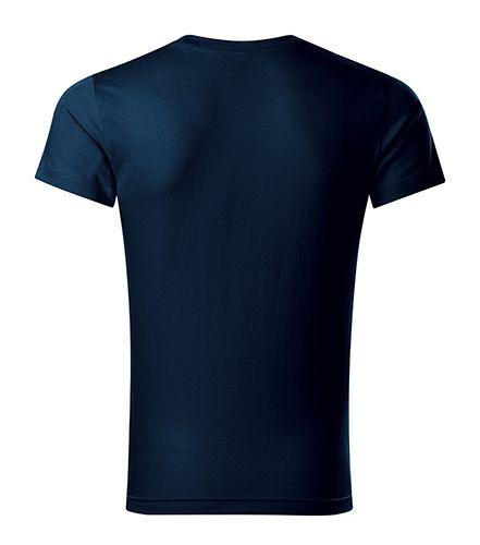 Pánské triko Slim Fit V-neck