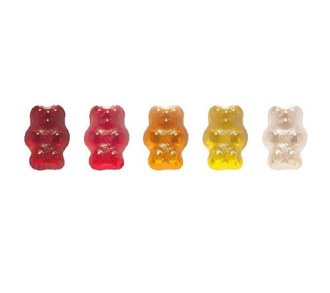 Želatinoví medvídci 5 barev