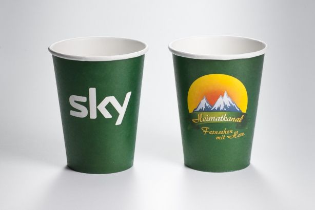 Papírové kelímky COLD CUPS 450ml (16 oz) 500ks