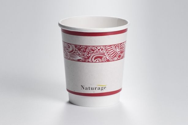 Papírové kelímky na kávu s potiskem 220ml (8 oz)