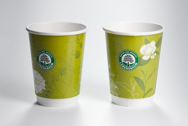 Papírové kelímky HOT CUPS 200/260ml (8 oz)