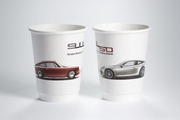 Papírové kelímky HOT CUPS 300/370 ml (12 oz) 500ks