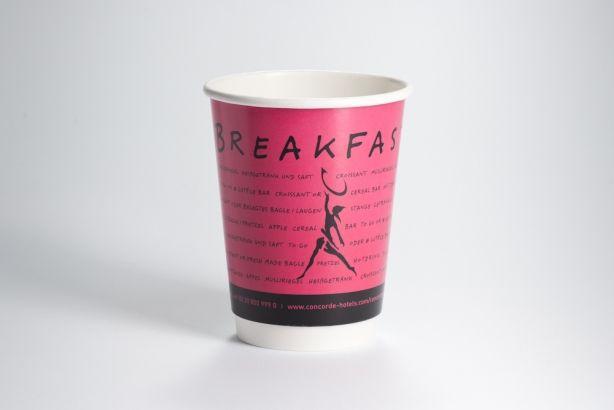 Papírové kelímky na kávu 300/370 ml (12 oz)