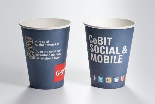 Papírové kelímky COLD CUPS 450ml (16 oz)
