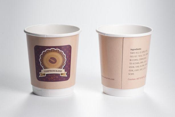 Papírové kelímky HOT CUPS 400/470ml (16 oz) 500ks