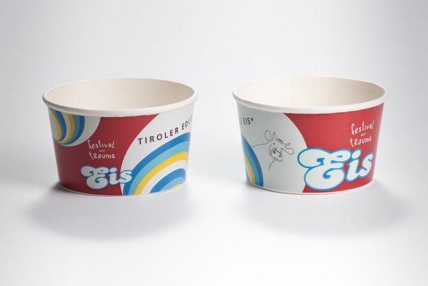 Papírové kelímky na zmrzlinu 180ml (6oz) 3000ks