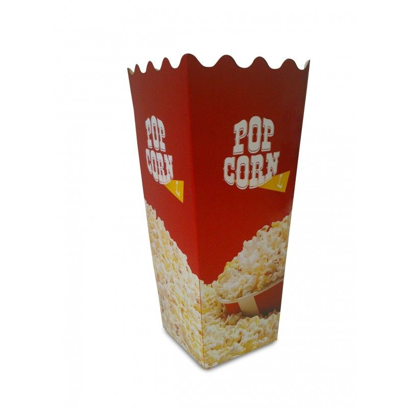 Krabička na popcorn velikost L