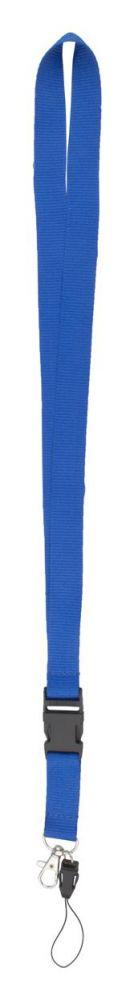 Duble lanyard - modrý