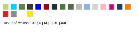 Reklamní polokošile dámská Helios - vzorník barev