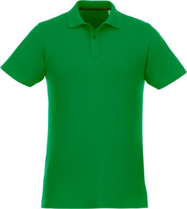 Pánské reklamní polo tričko Helios, krátký rukáv, zelené
