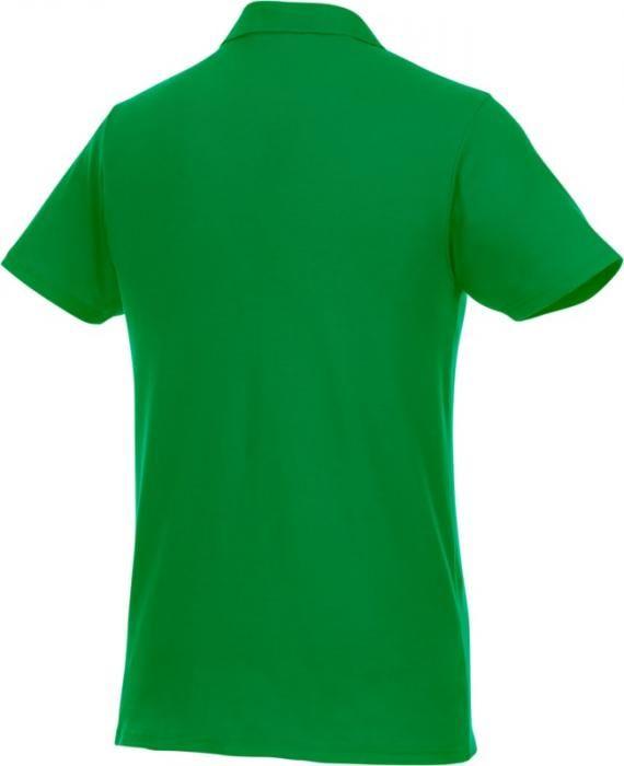 Pánské reklamní polo tričko Helios, zelené