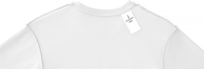Bílé tričko pánské Heros pro firemní potisk, visačka