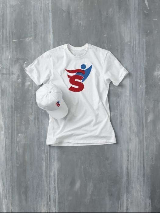 Heros pánské bílé tričko s vlastním potiskem