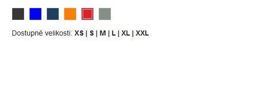 Dámská zateplená vesta Pallas - vzorník barev