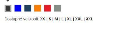 Pánská zateplená reklamní bunda Athenas, vzorník barev