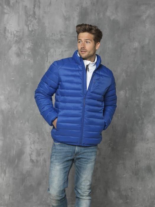 Pánská zateplená reklamní bunda Athenas, modrá