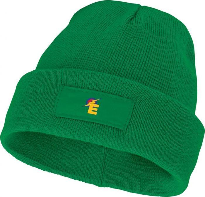 Reklamní čepice Boreas s vlastním logem, zelená