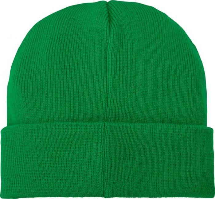 Zimní reklamní čepice Boreas, zelená