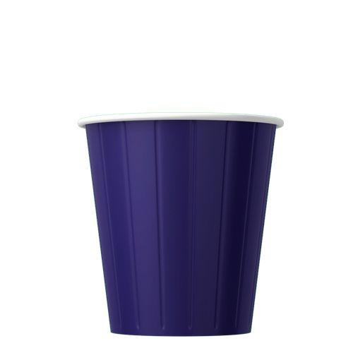 Papírový kelímek na kávu modrý 200ml (8oz) 1000ks